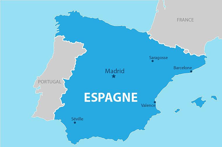 Carte Espagne Telecharger.Retour Du Voyage En Espagne Le Car Est Bien Arrive A 16h30 Bon